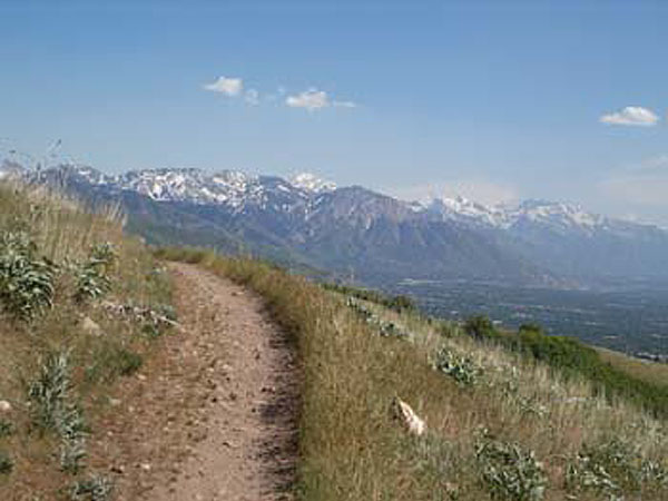 Salt Lake to Parley's Canyon